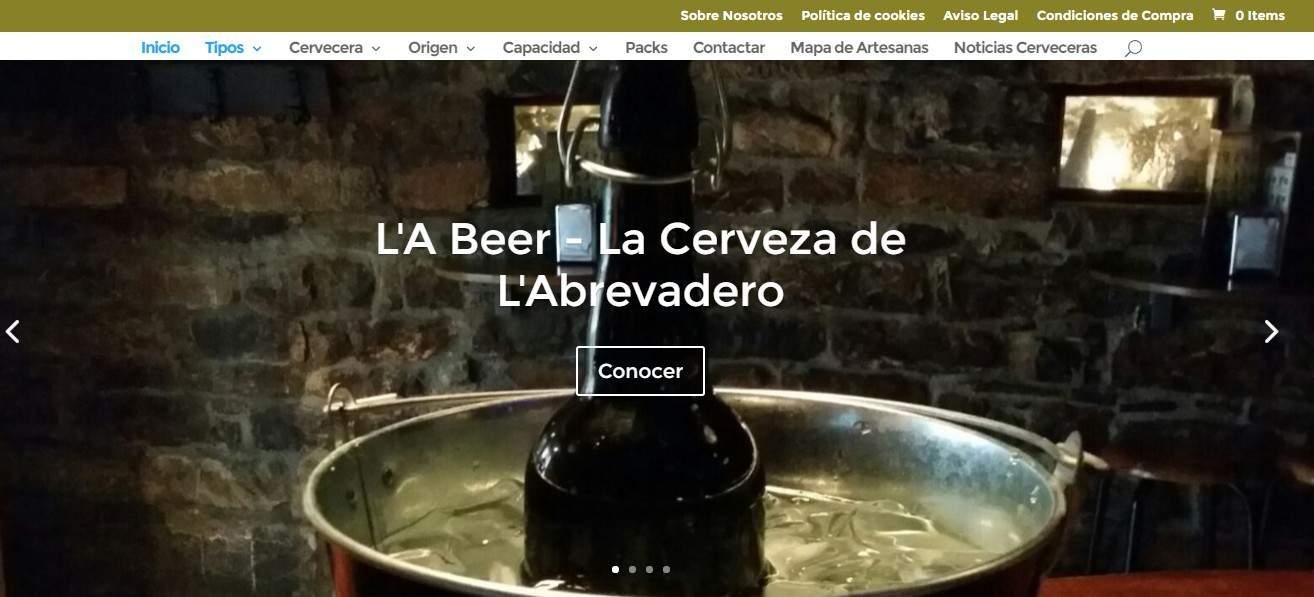 Nueva Tienda virtual: www.latiendadecervezas.com