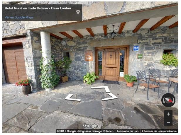 Visita virtual Casa Lordan (Torla)